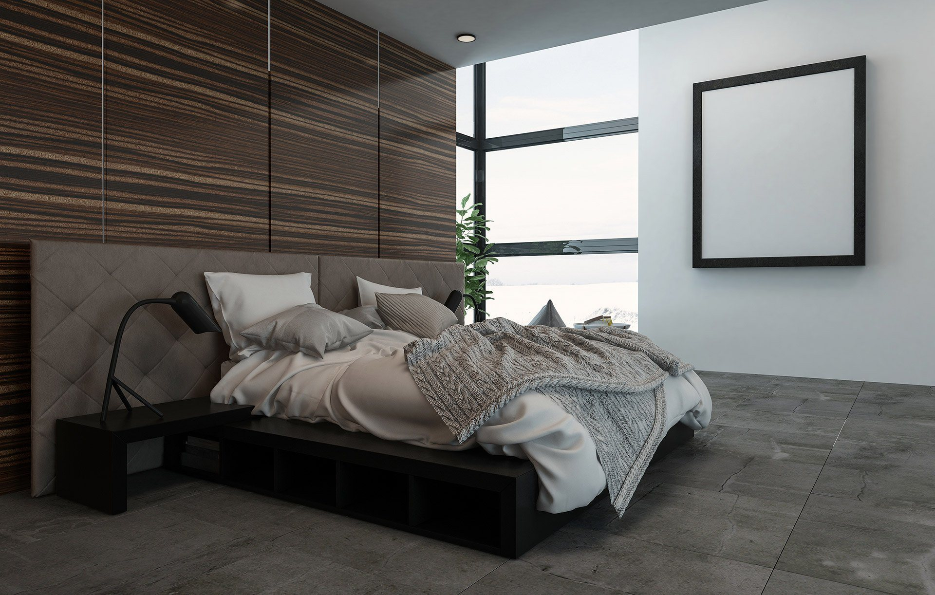 Wood Panels Create Gorgeous Accent Walls